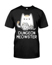 Dungeon Meowster shirt Classic T-Shirt front