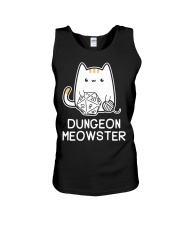 Dungeon Meowster shirt Unisex Tank thumbnail