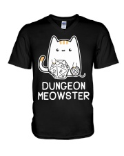 Dungeon Meowster shirt V-Neck T-Shirt tile
