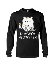 Dungeon Meowster shirt Long Sleeve Tee thumbnail