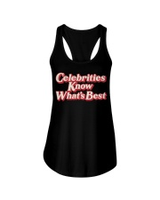 Celebrities Know what's best shirt Ladies Flowy Tank thumbnail