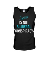 Justice is not a Liberal Conspiracy shirt Unisex Tank thumbnail