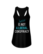 Justice is not a Liberal Conspiracy shirt Ladies Flowy Tank thumbnail