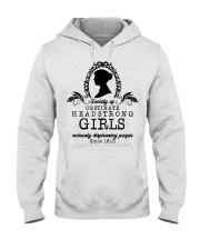 Society of obstinate headstrong girls seriously  Hooded Sweatshirt thumbnail