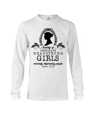 Society of obstinate headstrong girls seriously  Long Sleeve Tee thumbnail