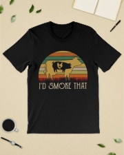 I'd Smoke That Weed vintage shirt Classic T-Shirt lifestyle-mens-crewneck-front-19