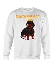 Dachshump Dachshund Trump shirt Crewneck Sweatshirt tile