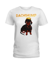 Dachshump Dachshund Trump shirt Ladies T-Shirt thumbnail