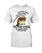 Grumpy Kitty Grr Grr Grr shirt Classic T-Shirt front