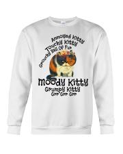 Grumpy Kitty Grr Grr Grr shirt Crewneck Sweatshirt thumbnail