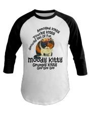 Grumpy Kitty Grr Grr Grr shirt Baseball Tee thumbnail