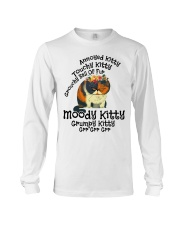 Grumpy Kitty Grr Grr Grr shirt Long Sleeve Tee thumbnail