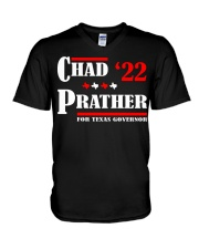 Chad Prather 2022 for Texas Governor shirt V-Neck T-Shirt thumbnail
