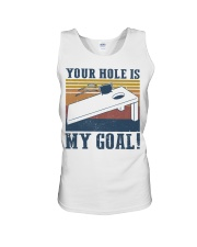 Your hole is my goal bed vintage T-shirt Unisex Tank thumbnail