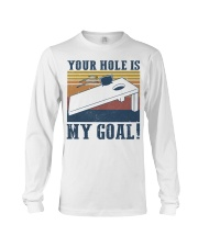Your hole is my goal bed vintage T-shirt Long Sleeve Tee thumbnail