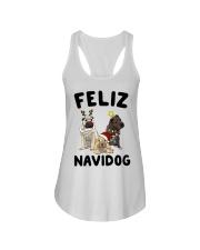 Feliz Navidog Shar Pei Christmas shirt Ladies Flowy Tank thumbnail
