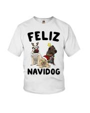Feliz Navidog Shar Pei Christmas shirt Youth T-Shirt thumbnail