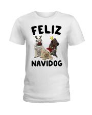 Feliz Navidog Shar Pei Christmas shirt Ladies T-Shirt thumbnail