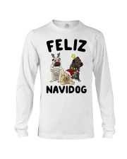 Feliz Navidog Shar Pei Christmas shirt Long Sleeve Tee thumbnail