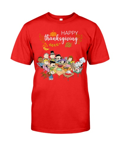 Happy Thanksgiving Peanuts Party shirt