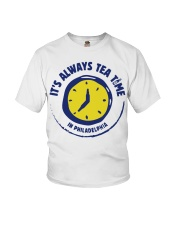It's always tea time In Philadelphia shirt Youth T-Shirt thumbnail