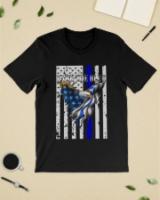 Bald Eagle Back the Blue Support Police shirt Classic T-Shirt lifestyle-mens-crewneck-front-19