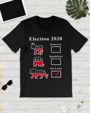 Joe Exotic Campaign Exotic Election 2020 Shirt  Classic T-Shirt lifestyle-mens-crewneck-front-17