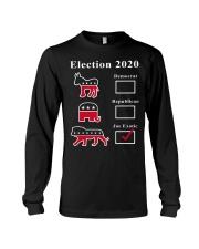 Joe Exotic Campaign Exotic Election 2020 Shirt  Long Sleeve Tee thumbnail