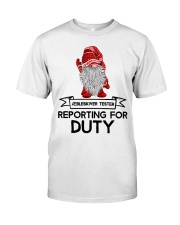 Gnomies Aebleskiver Tester Reporting for Duty Classic T-Shirt thumbnail