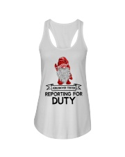 Gnomies Aebleskiver Tester Reporting for Duty Ladies Flowy Tank thumbnail