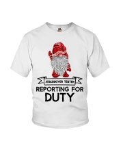 Gnomies Aebleskiver Tester Reporting for Duty Youth T-Shirt thumbnail