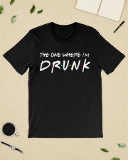 The one where I'm Drunk St Patrick's Day shirt Classic T-Shirt lifestyle-mens-crewneck-front-19