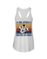 Jiu Jitsu because you might run out of ammo  Ladies Flowy Tank tile