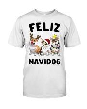 Feliz Navidog Corgi Christmas Classic T-Shirt thumbnail