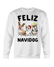 Feliz Navidog Corgi Christmas Crewneck Sweatshirt thumbnail