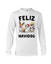 Feliz Navidog Corgi Christmas Long Sleeve Tee tile