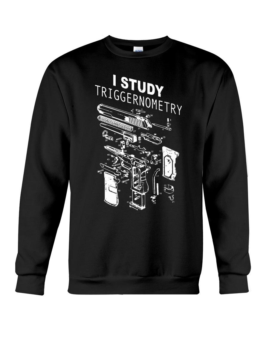 I study triggernometry shirt Crewneck Sweatshirt