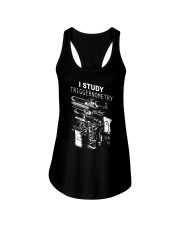 I study triggernometry shirt Ladies Flowy Tank thumbnail