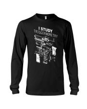 I study triggernometry shirt Long Sleeve Tee thumbnail