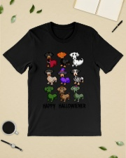 Happy Hallowiener breed of dog shirt Classic T-Shirt lifestyle-mens-crewneck-front-19