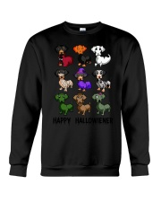 Happy Hallowiener breed of dog shirt Crewneck Sweatshirt thumbnail