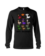 Happy Hallowiener breed of dog shirt Long Sleeve Tee thumbnail