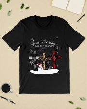 Jesus is the reason for the season cross shirt Classic T-Shirt lifestyle-mens-crewneck-front-19
