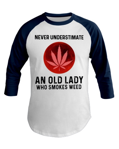 Never underestimate an old lady who smokes weed
