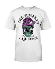 Skull Girl The Pumpkin Queen shirt Classic T-Shirt front