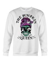 Skull Girl The Pumpkin Queen shirt Crewneck Sweatshirt thumbnail