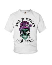 Skull Girl The Pumpkin Queen shirt Youth T-Shirt thumbnail
