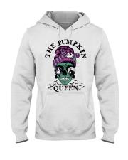 Skull Girl The Pumpkin Queen shirt Hooded Sweatshirt thumbnail