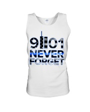 Back the Blue 9II01 Never Forget American Fla Unisex Tank thumbnail