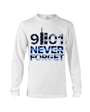 Back the Blue 9II01 Never Forget American Fla Long Sleeve Tee thumbnail